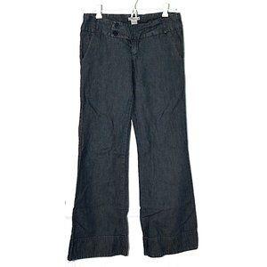 Forever 21 Lightweight Wide-Leg Trouser Jeans